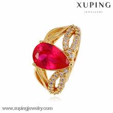10874-Xuping american diamond jewelry Anillo de diseño más reciente