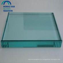 12mm 15mm 19mm de espessura de vidro temperado plano
