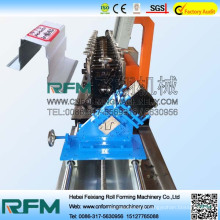 Steel forming machine series furring channel roll former machine
