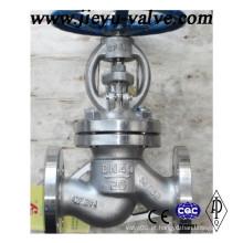 Aço Inoxidável Pn16 / Pn25 / Pn40 Flange Globe Valve