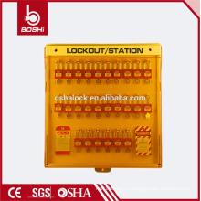 BD-B201 BRADY Многофункциональная эксклюзивная передовая станция блокировки безопасности, станция блокировки оборудования