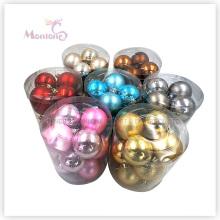 12PCS Dia. 5.8cm Xmas Tree Ornament Ball En Gros Décorations De Noël