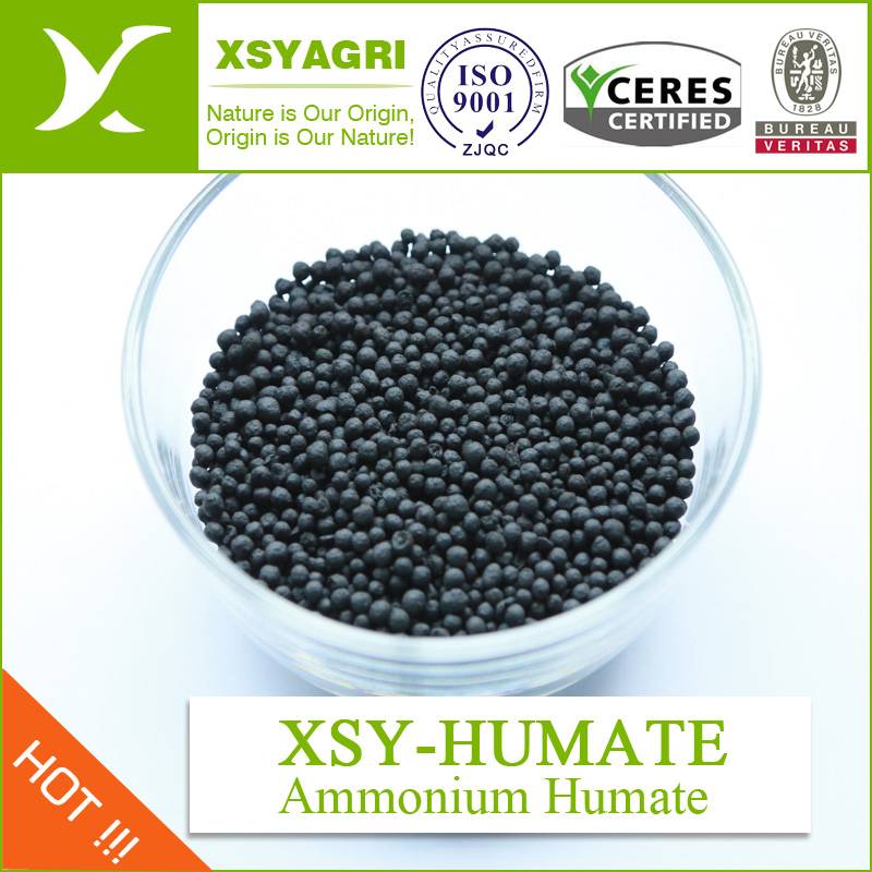 granulated Ammonium Humate Organic Fertilizer