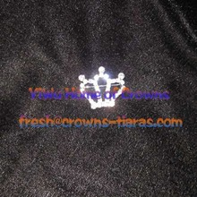 Simple Design Of Crowns Pins For Pageant