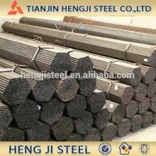 Tuyau en acier soudé de 4 pouces (tuyau en acier ERW) BS1387
