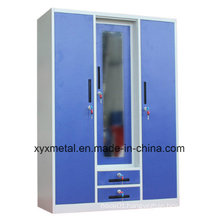 Bedroom Popular India Dismountable Style Steel Wardrobe Locker