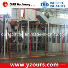 Línea de pulverización de pintura electrostática con la mejor calidad