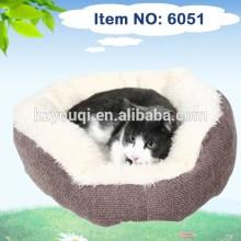 New hot sale pet bed and cushions /new style pet mat/ burger bun pet cat bed