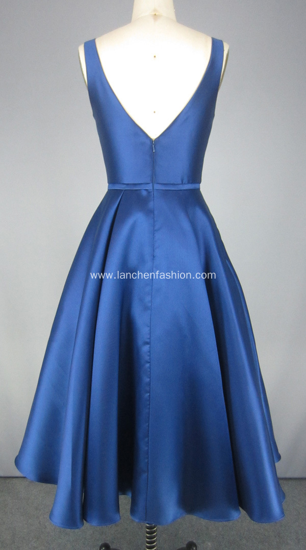Navy Blue Cocktail Dresses Prom Dresses