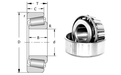 Precision Tapered Roller Bearings 32900 Series