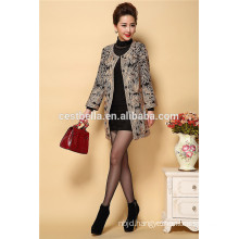 New Fashion Casual Coat Top Quality Embroidered Winter Coats and Embroidered Trench Coats