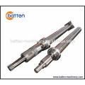 Plastic injection machine Harden hvof screw barrel