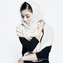 Fashional 100% Cashmere Scarves,Winter Lady Cashmere Stole Pashmina,Knitted Infinity Scarf Women