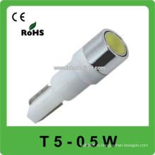 12V0.5W T5 светодиодный фонарь приборной панели автомобиля