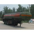 10m Tri-axle Corrosive Liquid Transport Semi-trailer