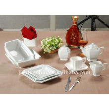 47pcs baby dinner set square shape ceramic dinner set