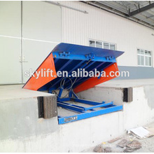 static hydraulic dock ramps for warehouse