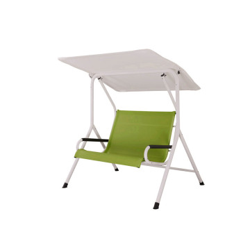 textilene swing chair with canopy & custion
