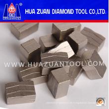 Scharfe Diamantsegmente für Marmor / Granit / Beton (HZ3287)
