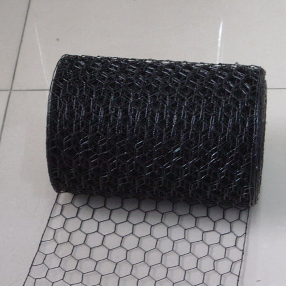 Black Vinyl Coated Wire