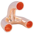 Concentric Copper Tripod Bends