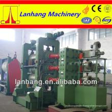 Machine de calandre en caoutchouc en caoutchouc à trois rouleaux de haute qualité