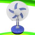 Ventilateur rechargeable de ventilateur de Tableau de pied de la fan de 5 lames de la fan de 16 lames (SB-T5-AC16D)