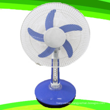 5 Blade 16 Inches 24V DC Stand Table Fan Rechargeable Fan (SB-T5-DC16D)