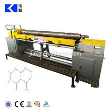 Cnc-gerade und rückseitige sechseckige Maschendraht-Maschine