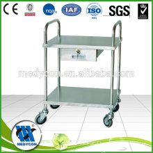 stainless steel laboratory trolley
