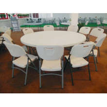 Hot Selling High Quality 6ft Round Plastic Folding Table (HQ-Y180)