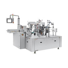 High Quality Automatic Double-Bag Stand Up Pouch Filling Sealing Packing Machine