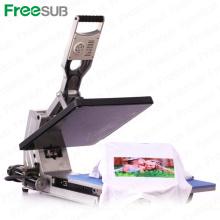 Camiseta de la sublimación de Sunmeta Camiseta hidráulica de la prensa del calor