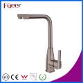 Fyeer Nickle Brushed Kitchen Sink Mixer with Swivel Spout