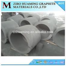 Cadinho de grafite de resistência térmica para metal derretido