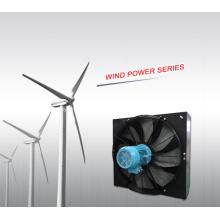 Intercambiador de calor de energía eólica