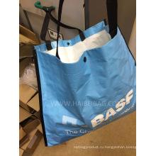 Пейзажные тканые сумки из полипропилена