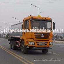 Shacman 6X4 drive camión cisterna / camión cisterna / camión cisterna / camión cisterna / camión cisterna / camión líquido / camión químico / transporte de líquidos