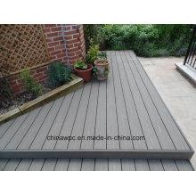 Eco-Friendly al aire libre WPC (madera compuesto de plástico) Decking