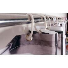 Polyester-Druck Hookless Duschvorhänge