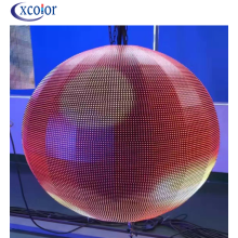 High definition for Led Screen Panel indoor Ceiling P4 Sphere LED Display export to Italy Manufacturer