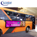 RGB outdoor reclame p5 bus bericht led display