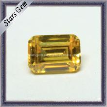 Vente en gros Bijoux Octagon Emerald Cut Cubic Zirconia Gemstones