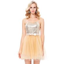 Starzz Strapless cebra de Tulle Ball corto vestido de fiesta del baile de fin de curso de noche de cóctel 8 Tamaño EE.UU. 2 ~ 16 ST000114-2