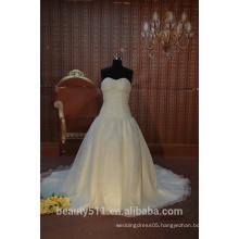 IN STOCK Strapless wedding dress sleeveless floor-length bridal dresses SW45