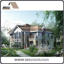 New Design Luxury Light Steel Framed Villa