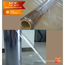 Epaisseur pour 0.06-0.5mm Film de pvc transparent transparent pvc transparent normal