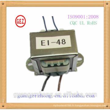 6.0 VA-20.0 VA EI Transformateur de puissance 230V