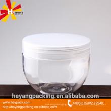 50g 100gl 150gl 250g 500g frasco cosmético claro del ANIMAL DOMÉSTICO con la tapa de aluminio