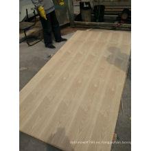 MDF superpuesto chapado en madera natural